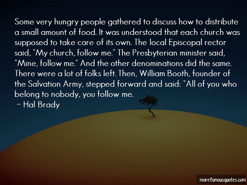 Hal Brady Quotes