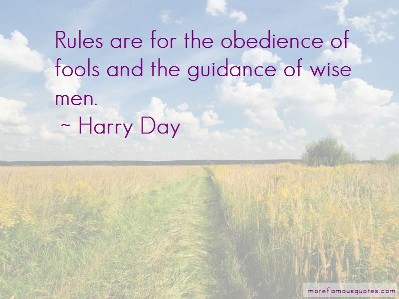 Harry Day Quotes