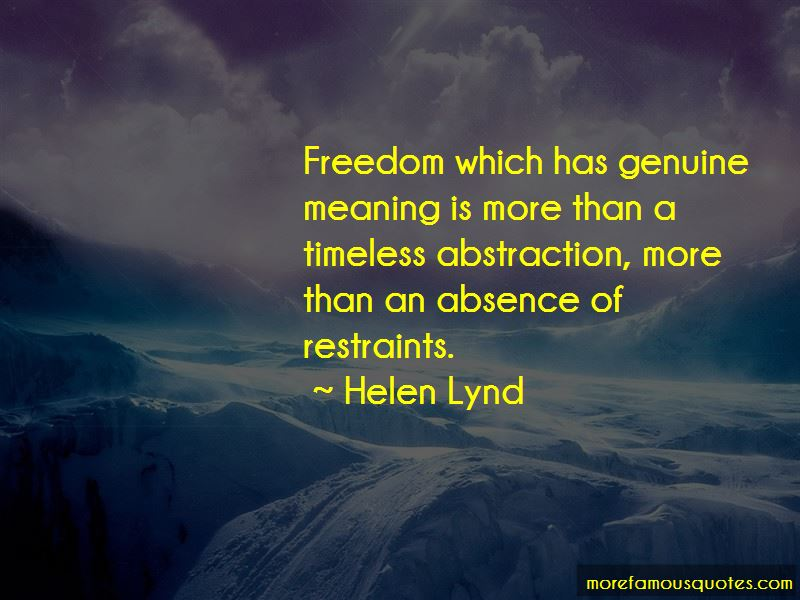 Helen Lynd Quotes Pictures 2