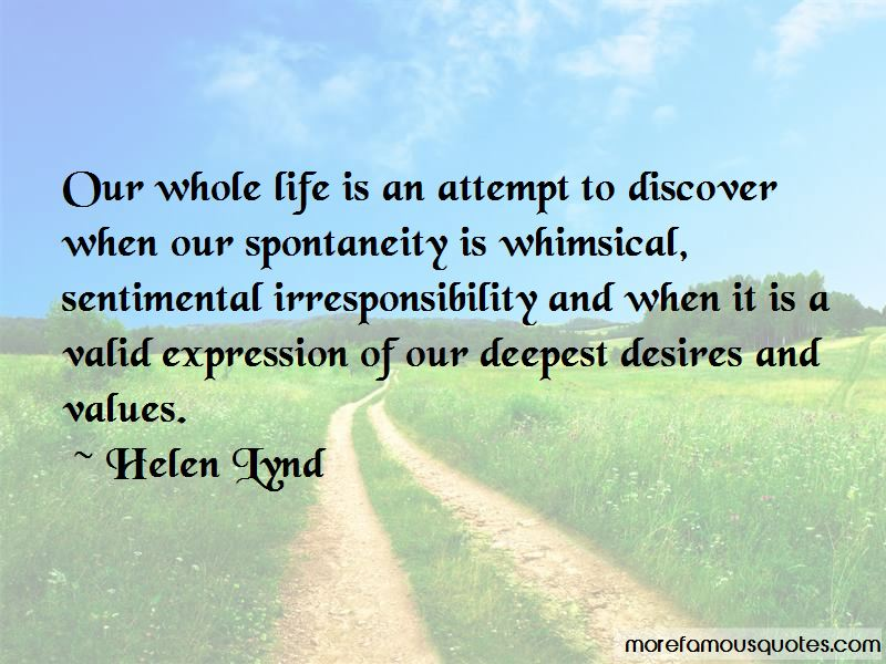 Helen Lynd Quotes
