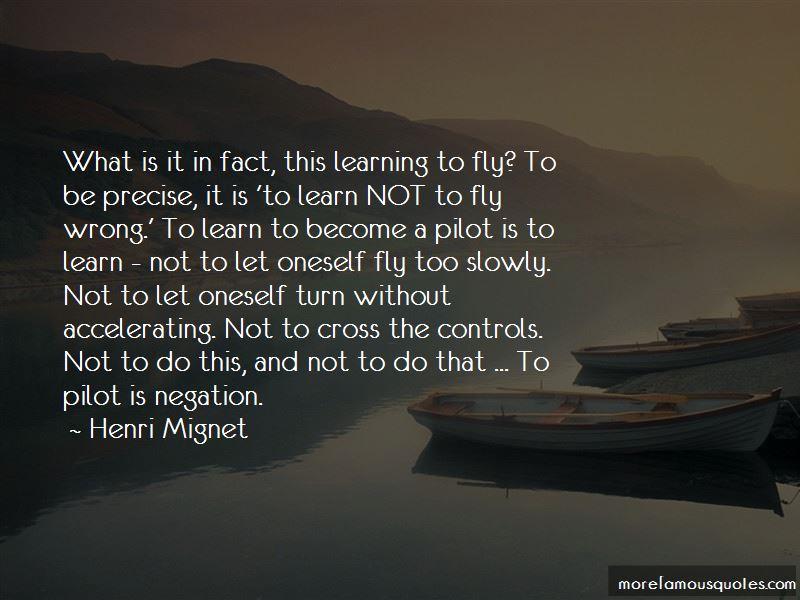 Henri Mignet Quotes