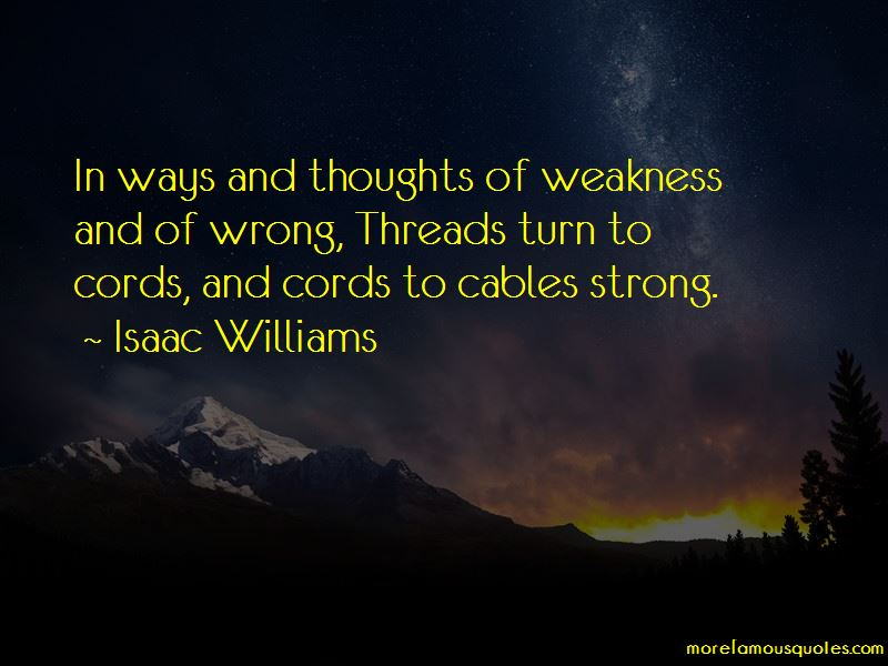 Isaac Williams Quotes Pictures 2
