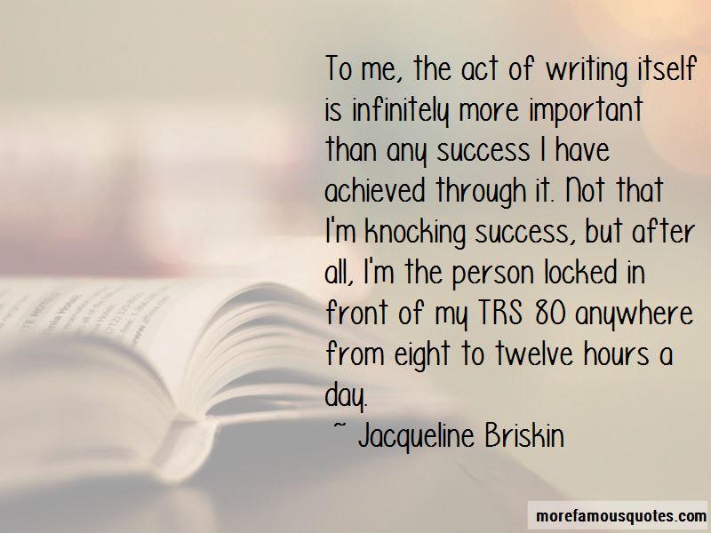 Jacqueline Briskin Quotes Pictures 3