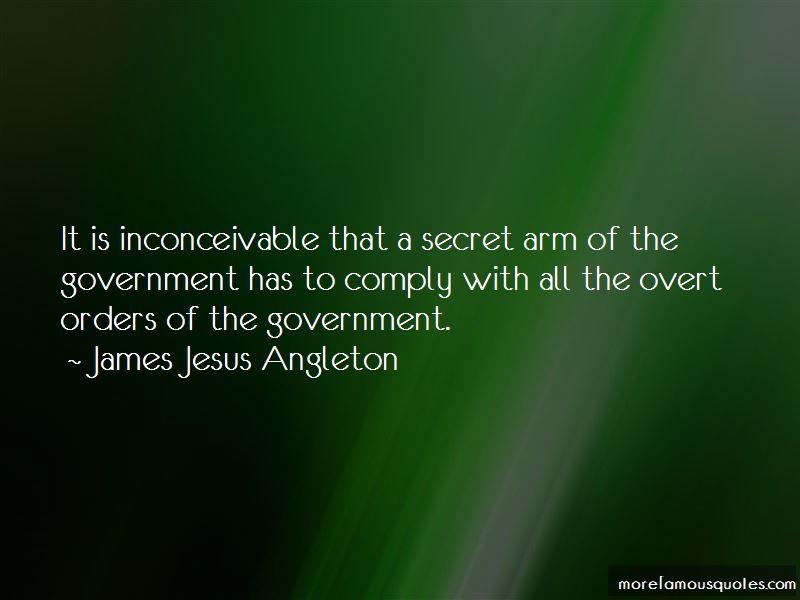 James Jesus Angleton Quotes Pictures 2