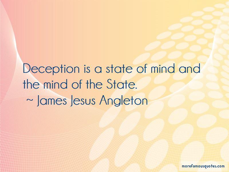 James Jesus Angleton Quotes