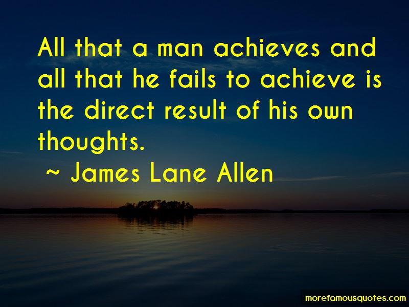 James Lane Allen Quotes