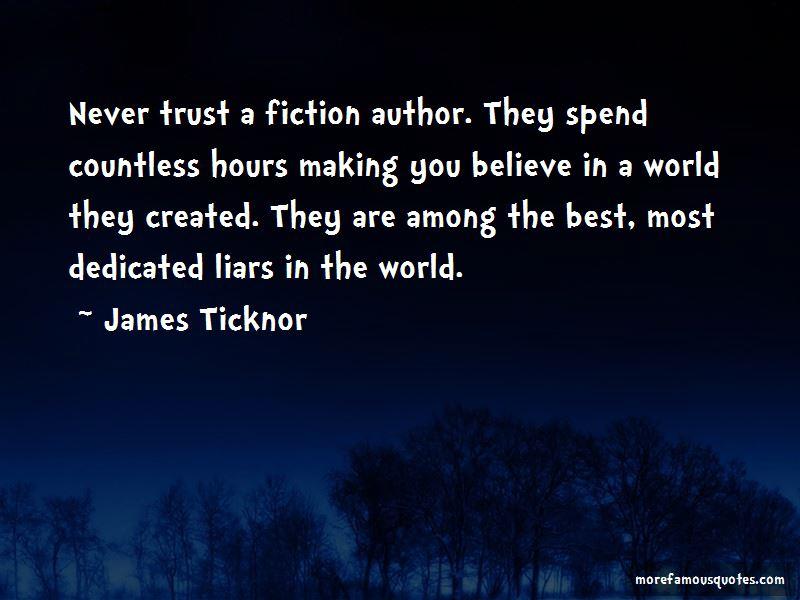 James Ticknor Quotes
