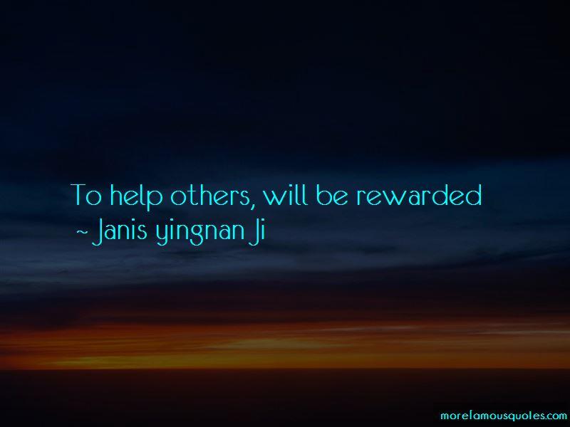 Janis Yingnan Ji Quotes