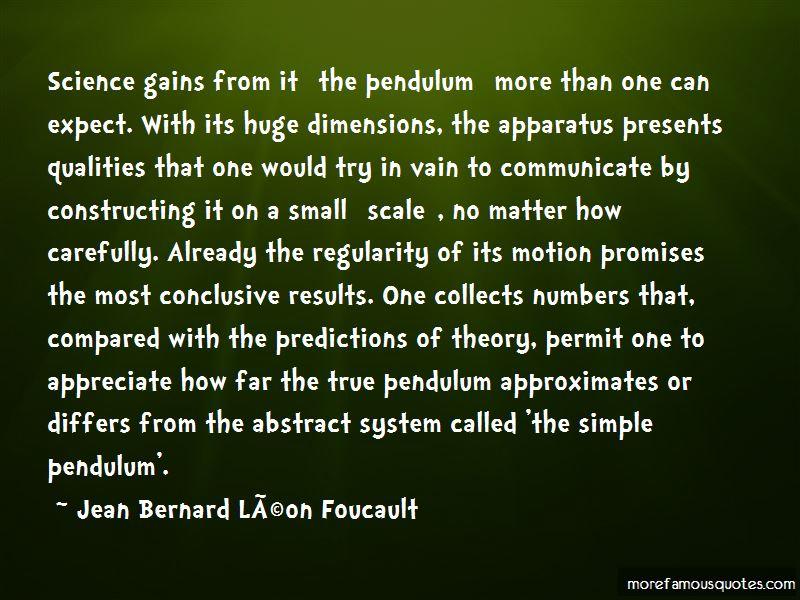 Jean Bernard Leon Foucault Quotes