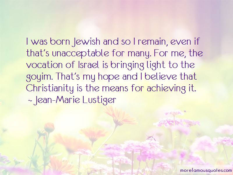 Jean-Marie Lustiger Quotes Pictures 2
