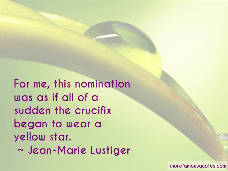 Jean-Marie Lustiger Quotes