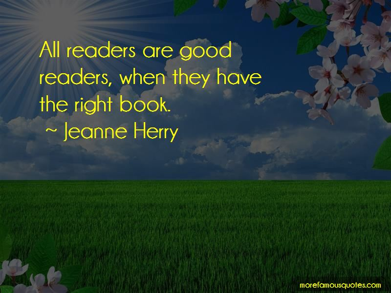 Jeanne Herry Quotes