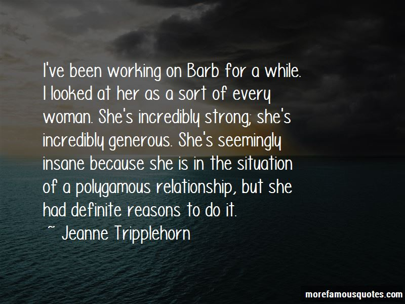 Jeanne Tripplehorn Quotes Pictures 2