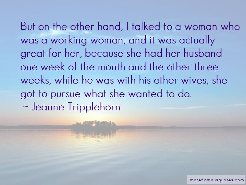Jeanne Tripplehorn Quotes Pictures 4