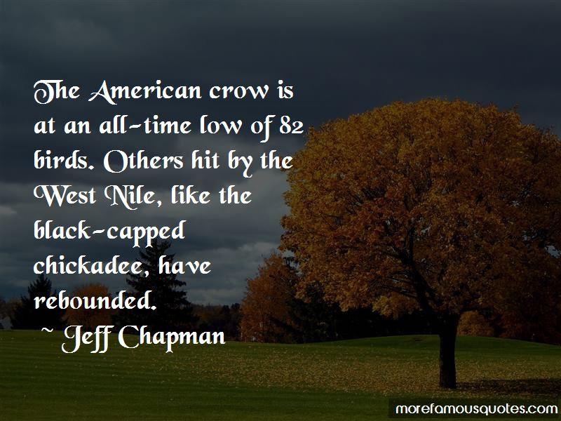 Jeff Chapman Quotes