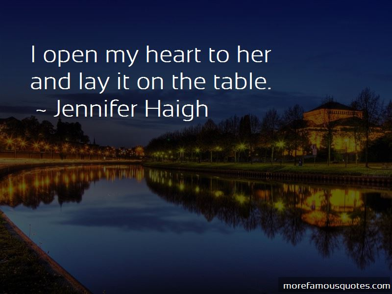 Jennifer Haigh Quotes Pictures 3