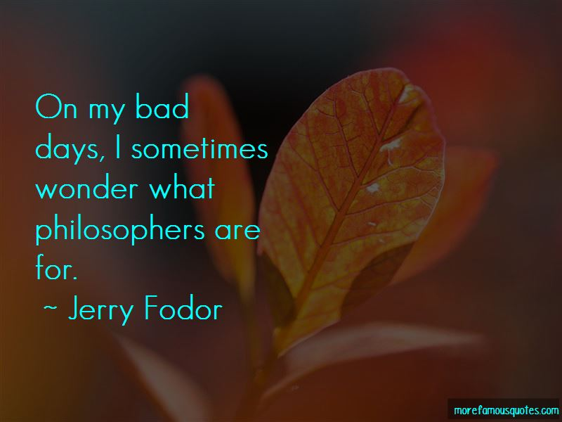 Jerry Fodor Quotes Pictures 4
