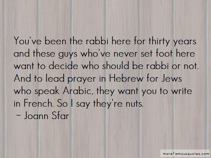 Joann Sfar Quotes