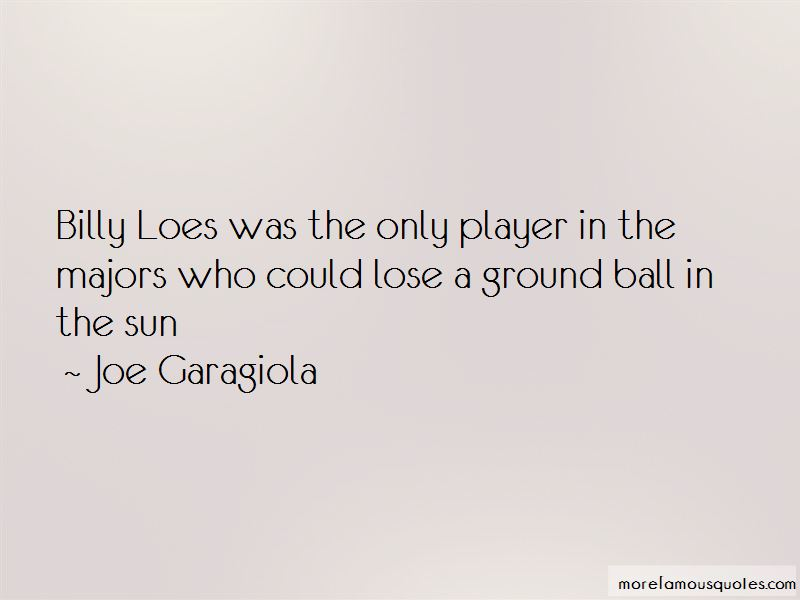 Joe Garagiola Quotes Pictures 4