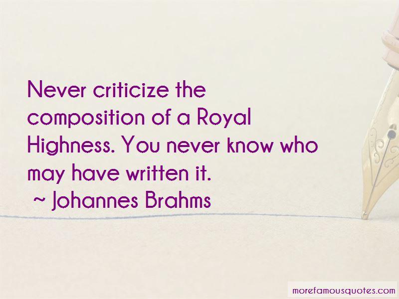Johannes Brahms Quotes Pictures 4