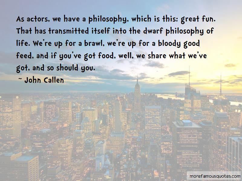 John Callen Quotes