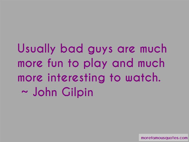 John Gilpin Quotes