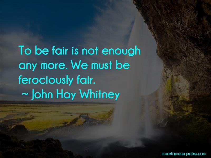 John Hay Whitney Quotes
