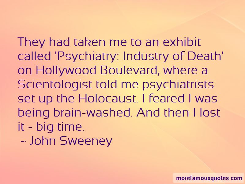 John Sweeney Quotes