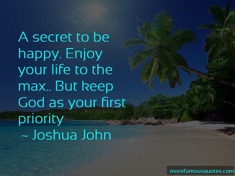 Joshua John Quotes Pictures 2
