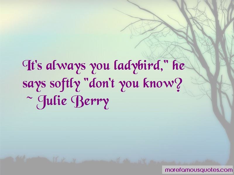 Julie Berry Quotes