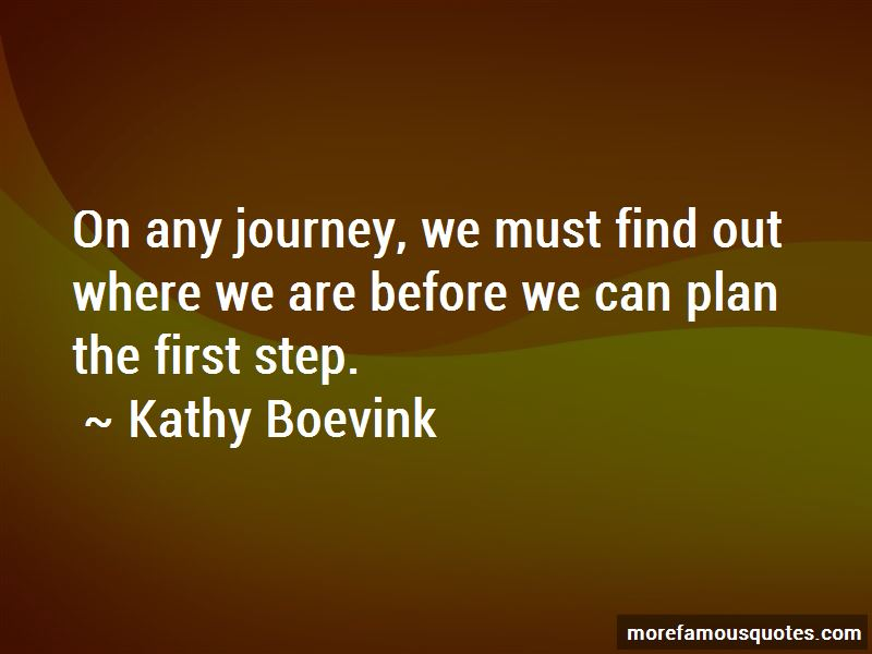 Kathy Boevink Quotes
