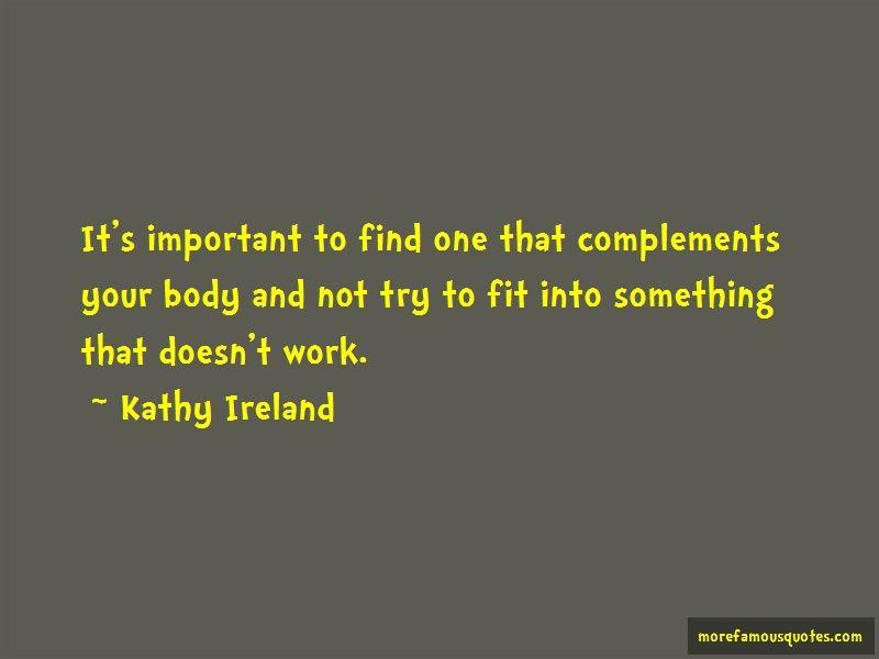Kathy Ireland Quotes Pictures 4
