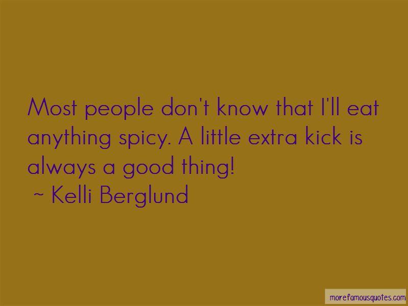 Kelli Berglund Quotes Pictures 2