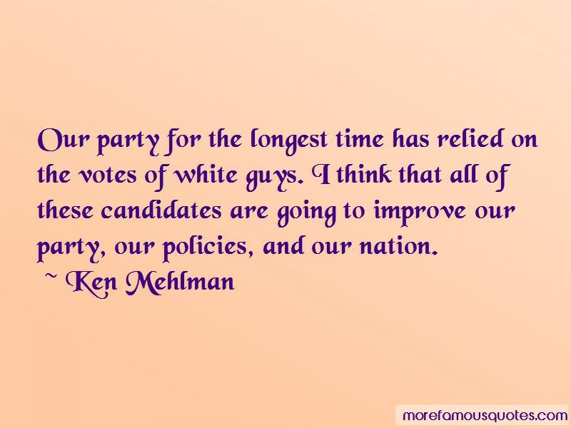 Ken Mehlman Quotes