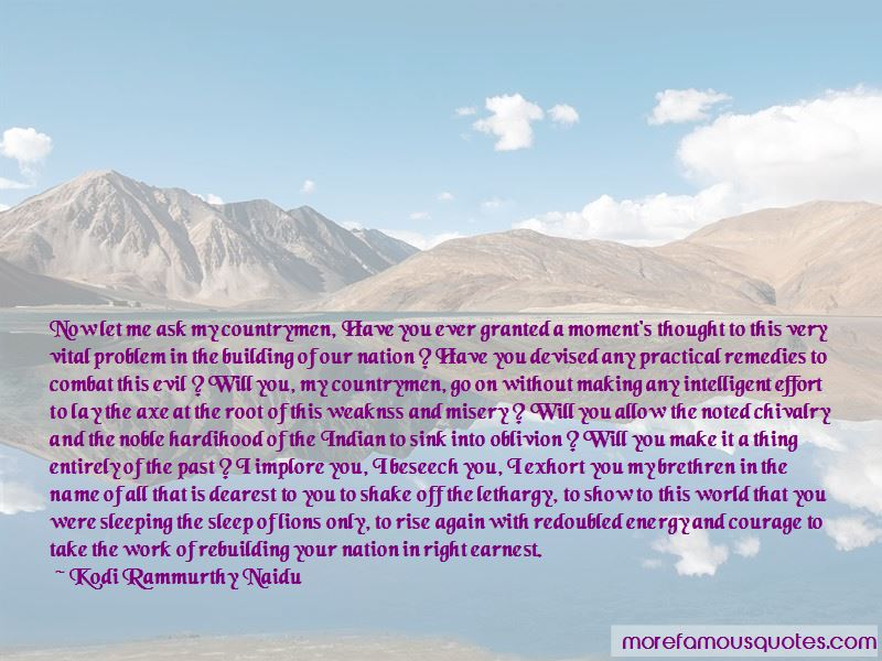 Kodi Rammurthy Naidu Quotes