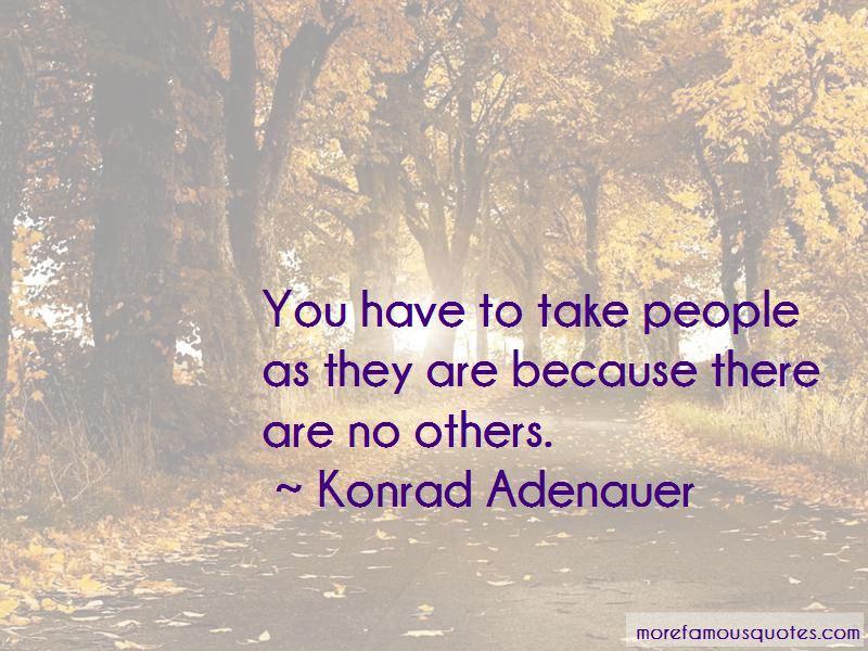 Konrad Adenauer Quotes Pictures 2