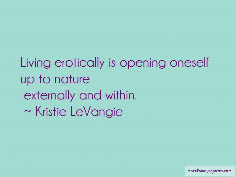 Kristie LeVangie Quotes Pictures 2