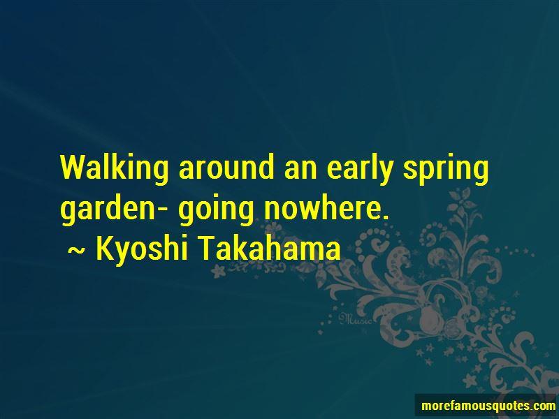 Kyoshi Takahama Quotes