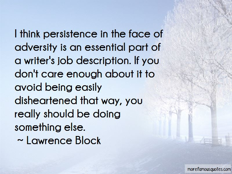 Lawrence Block Quotes Pictures 2