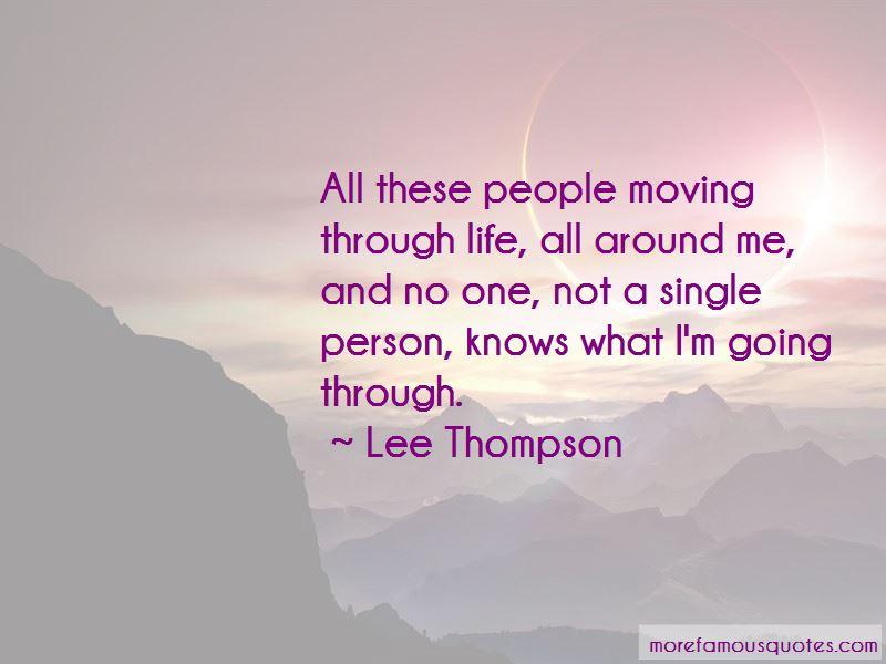 Lee Thompson Quotes