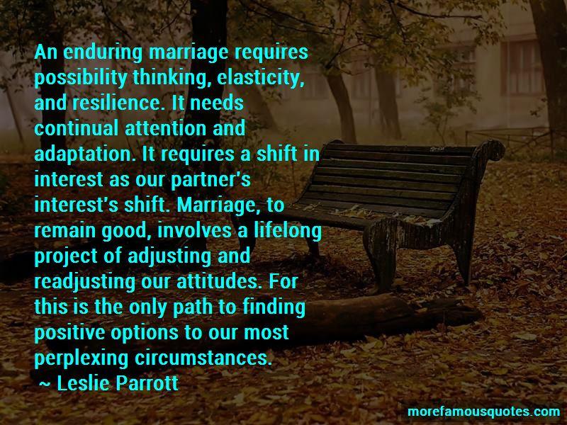 Leslie Parrott Quotes