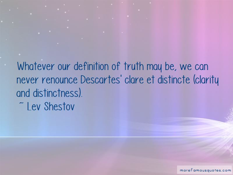 Lev Shestov Quotes