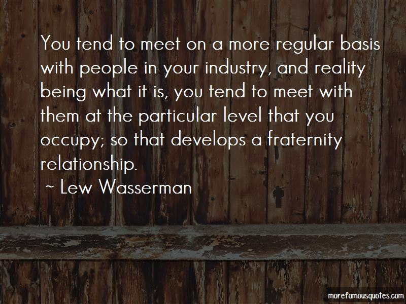 Lew Wasserman Quotes Pictures 2