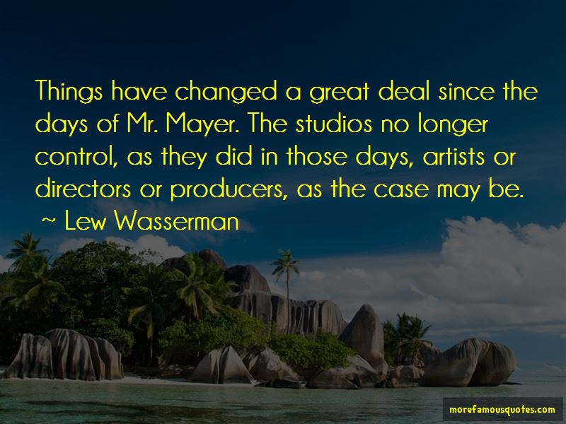 Lew Wasserman Quotes Pictures 4