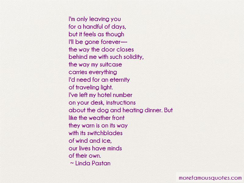 Linda Pastan Quotes