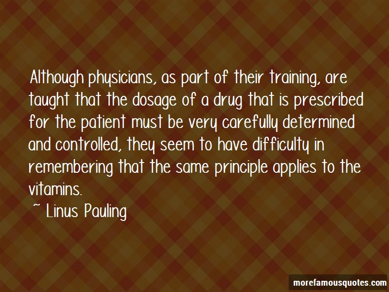 Linus Pauling Quotes Pictures 4