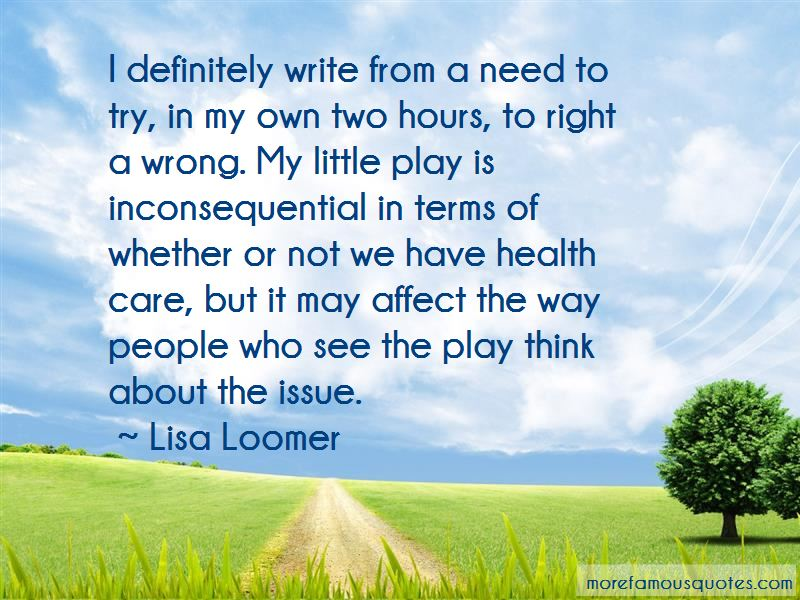 Lisa Loomer Quotes Pictures 3