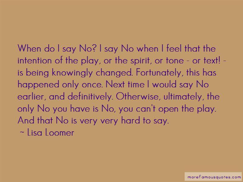 Lisa Loomer Quotes