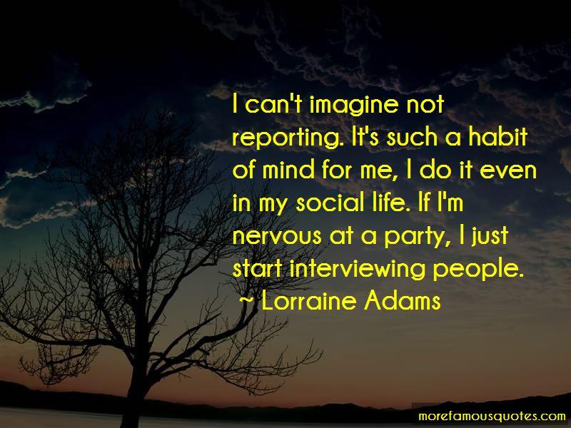 Lorraine Adams Quotes Pictures 2
