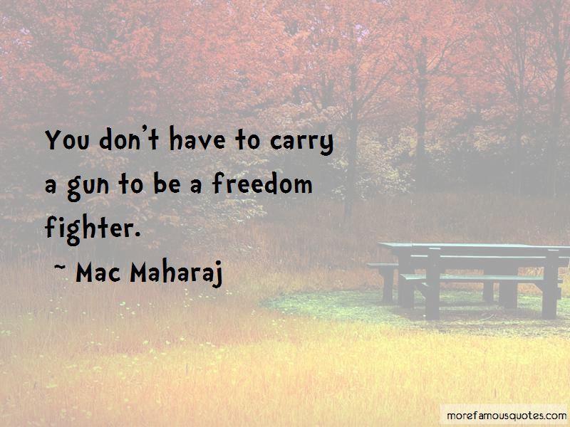 Mac Maharaj Quotes